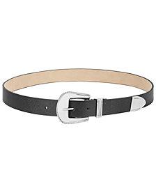 Steve Madden Western-Buckle Belt