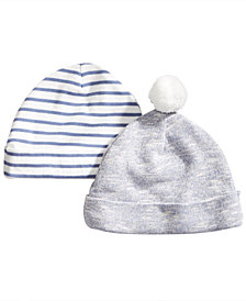 First Impressions Baby Boys 2-Pack Knit Hats, Created for Macy's