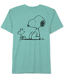 Hybrid Men's Snoopy Graphic T-Shirt