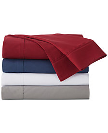 IZOD Solid Microfiber 6-Pc Sheet Sets