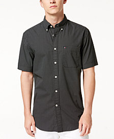 Tommy Hilfiger Men's Jesse Mini Dot Shirt, Created for Macy's