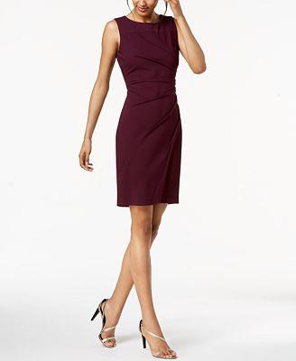 Calvin Klein Petite Starburst Sheath Dress Dresses Petites Macy S