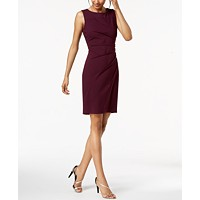 Deals on Calvin Klein Sunburst Sheath Dress