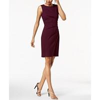 Deals on Calvin Klein Sunburst Sheath Dress