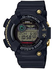 G-Shock Men's Solar Digital Master of G 35th Anniversary Edition Black Resin Strap Watch 50mm