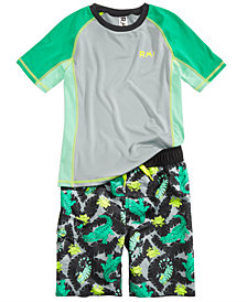 RM 1958 Toddler Boys  2-Pc. Alligator Rash Guard Set