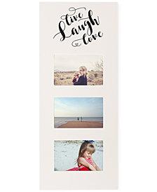 Cathy's Concepts Live Laugh Love White Multi-Photo Frame