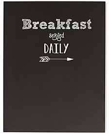 Cathy's Concepts Breakfast Served Chalkboard Sign