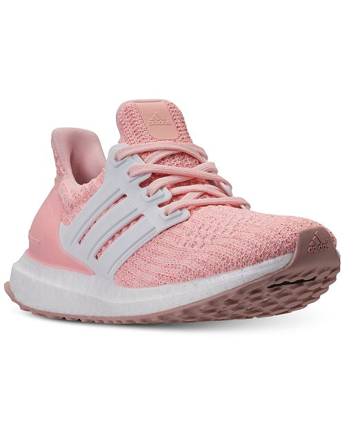 best service eb0f5 314df adidas Girls' UltraBOOST Running Sneakers from Finish Line ...