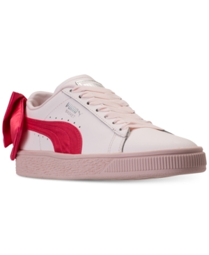 Puma Girls' Basket Bow...