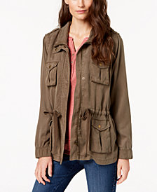 Style & Co Cargo-Pocket Jacket, Created for Macy's