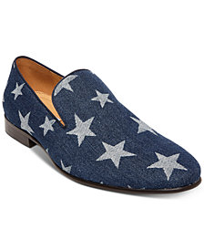 Steve Madden Men's Lonestar Printed Loafers