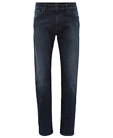 BOSS Men's Regular/Classic-Fit Overdyed Jeans