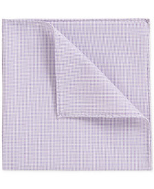 BOSS Men's Rolled-Hem Pocket Square