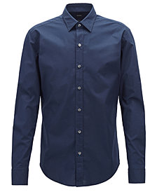 BOSS Men's Slim-Fit Stretch Shirt