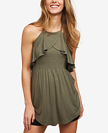 Motherhood Maternity Ruffled Halter Top