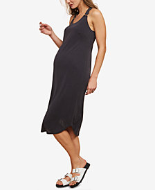 Motherhood Maternity Jersey Midi Dress