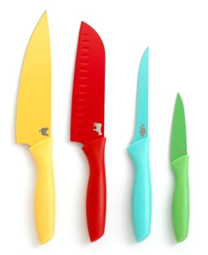 Martha Stewart Collection Color Coded Cutlery, Set of 4. Created for Macy's thumbnail