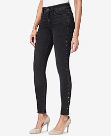 NYDJ Ami Studded Tummy-Control Skinny Jeans