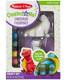 Melissa & Doug Decorate-Your-Own Dinosaur Figurines - Dinosaur Toy