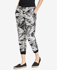 Lauren Ralph Lauren Printed French Terry Jogger Pants