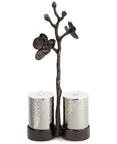 Michael Aram Black Orchid Salt Pepper Shakers
