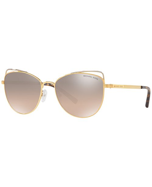 5ec85b3cee9c Michael Kors Sunglasses, MK1035 55 ST. LUCIA & Reviews - Sunglasses ...