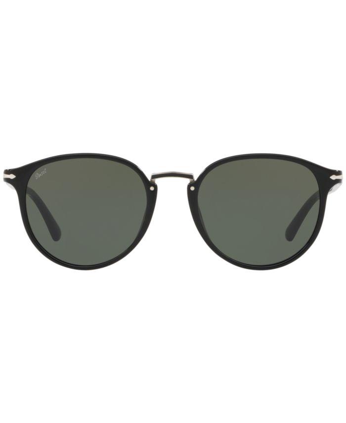 Persol Sunglasses, PO3210S 54 & Reviews - Sunglasses by Sunglass Hut - Men - Macy's