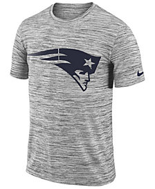 Nike Men's New England Patriots Legend Velocity Travel T-Shirt