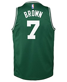 Jaylen Brown Boston Celtics Icon Swingman Jersey, Big Boys (8-20)