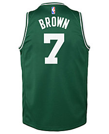 Nike Jaylen Brown Boston Celtics Icon Swingman Jersey, Big Boys (8-20)