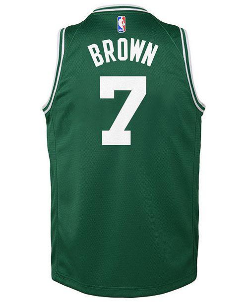 more photos 87a2e 780d1 Jaylen Brown Boston Celtics Icon Swingman Jersey, Big Boys (8-20)