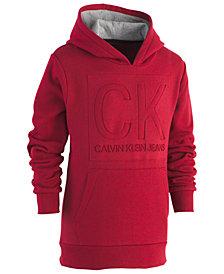 Calvin Klein Big Boys Embossed Logo Hoodie