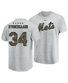 Majestic Men's Noah Syndergaard New York Mets Camo Player T-Shirt