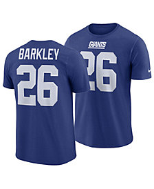Nike Men's Saquon Barkley New York Giants Pride Name and Number Wordmark T-shirt