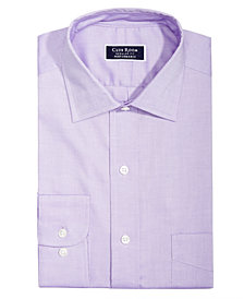 Club Room Men's Slim-Fit Stretch Easy-Care Pinpoint Solid Dress Shirt, Created for Macy's