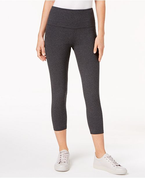 d0fdc6ed8c ... Style & Co Cropped Tummy-Control Leggings, Created for Macy's ...