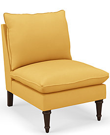 Martha Stewart Collection™ Bedford Collection Elenor Accent Chair, Quick Ship, Created For Macy's