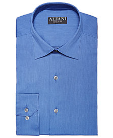 AlfaTech by Alfani Men's Slim Fit Bedford Cord Dress Shirt, Created For Macy's