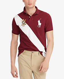 Polo Ralph Lauren Men's Big & Tall Classic Fit Mesh Cotton Polo