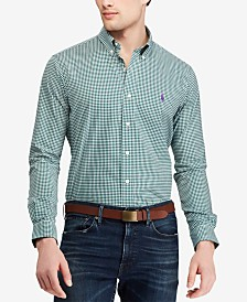 Polo Ralph Lauren Men's Classic Fit Gingham Shirt