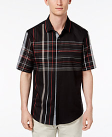 Alfani Men's Henrick Plaid Shirt, Created for Macy's