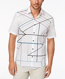 Alfani Men's Disco-Print Shirt, Created for Macy's