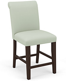 Martha Stewart Collection™ Bedford Collection Eloise Counter Stool, Quick Ship, Created For Macy's