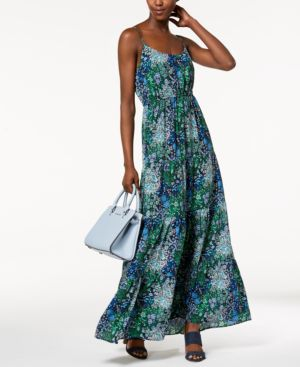 Michael Michael Kors Tiered Maxi Dress 6525991