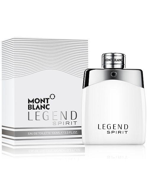 מדהים Montblanc LEGEND SPIRIT Eau de Toilette Collection & Reviews HH-83