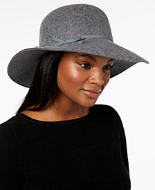 Nine West Wool Felt Floppy Hat, Created for Macy's