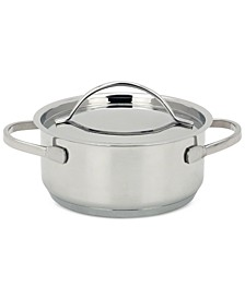 4-Pc. Stainless Steel Mini Dutch Oven Set