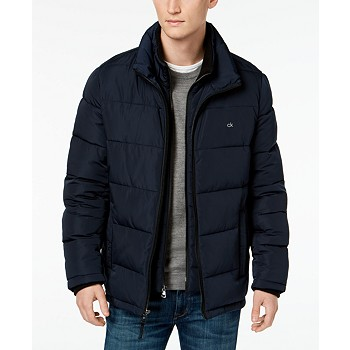 Calvin Klein Men's Full-Zip Puffer Coat (Multiple Colors and Sizes)