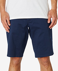 Fox Men's Stretch Chino Shorts with Cell Phone Pocket
